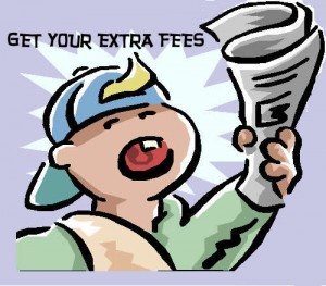 Get Your Extra Fees
