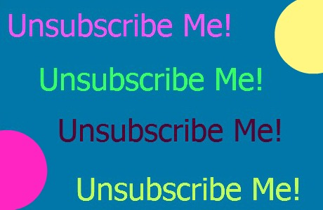 unsubscribe from email, subscriptions and other junk