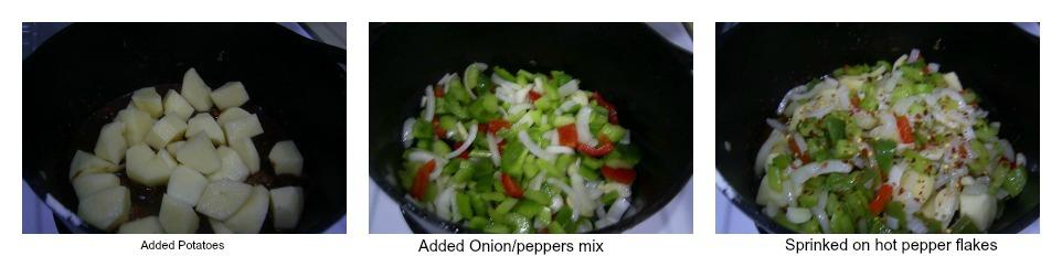 remainder of the stew ingredients