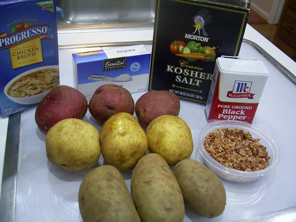 creamy potato soup ingredients