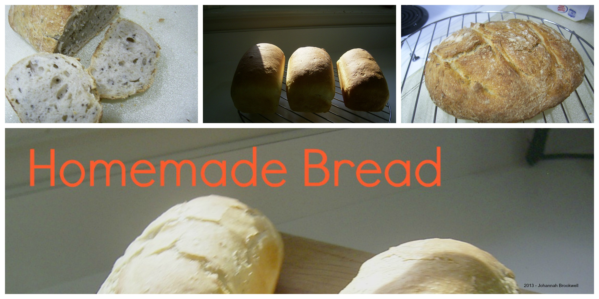 These are all pictures of some of my breads.